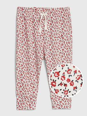 Gap Organic Print Pull-On Pants