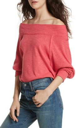 Women's Free People Palisades Off The Shoulder Top
