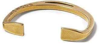 Banana Republic Giles & Brother | Antique Brass Stirrup Cuff