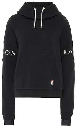 P.E Nation Forward Defender cotton hoodie