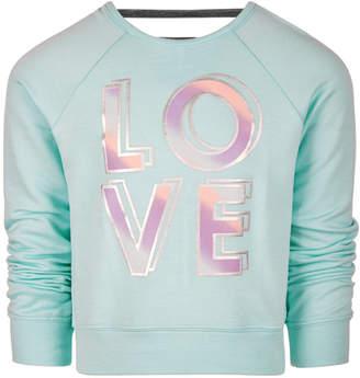 Macy's Ideology Little Girls LOVE Graphic Sweatshirt, Created for