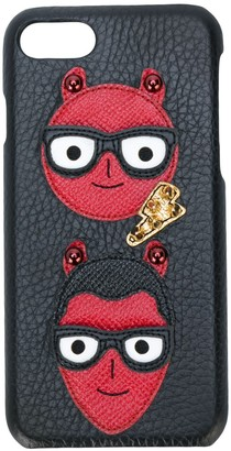 Dolce & Gabbana devil face iPhone 7 case