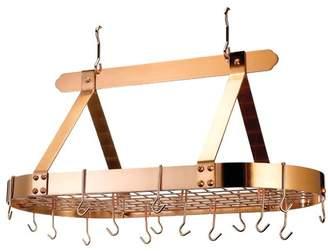 Old Dutch Oval Pot Rack with 16 Hooks