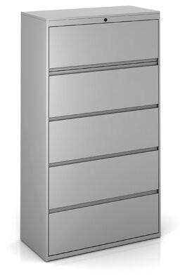 Trendway 5-Drawer Lateral Filing Cabinet Trendway