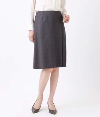 Cerruti (チェルッティ) - NEWYORKER women's 【秋冬新作】CERRUTI (チェルッティ)/ダークチェック ラップ風スカート
