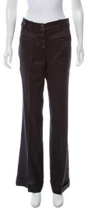 Twelfth Street By Cynthia Vincent Pinstripe Mid-Rise Pants
