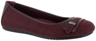 Easy Street Shoes Womens Angie Ballet Flats Round Toe