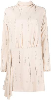 Prada embellished shift dress