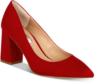 INC International Concepts I.n.c. Bahira Block-Heel Pumps, Created For Macy's Women's Shoes