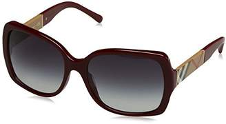 Burberry Women's 4160 0BE4160 34038G Rectangular Sunglasses