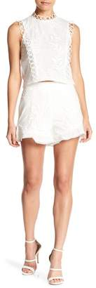 Lucy Paris Madison Embroidered Shorts
