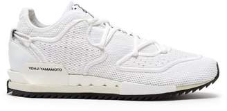 Y-3 Y 3 Harigane Ii Low Top Mesh Trainers - Mens - White