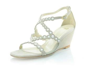 Butter Shoes Suede Pearl Wedge