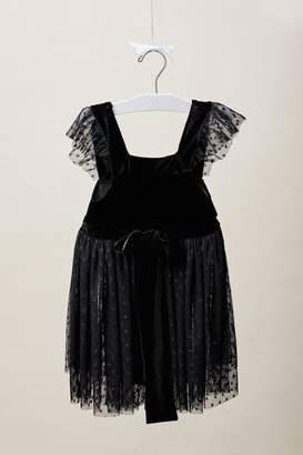 Rosalie Lil Lemons Velvet Dress