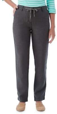 Olsen Cotton Straight Leg Pants
