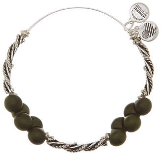 Alex and Ani Spirit Spiral Forest Expandable Bangle