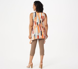 Women With Control Women with Control Regular Printed Tunic with Capri Pants Set