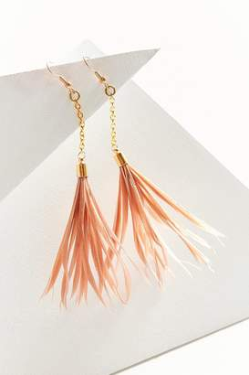 Fiona Paxton Iona Feather Drop Earring