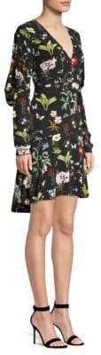 Joie Tamarice Floral-Print A-Line Dress