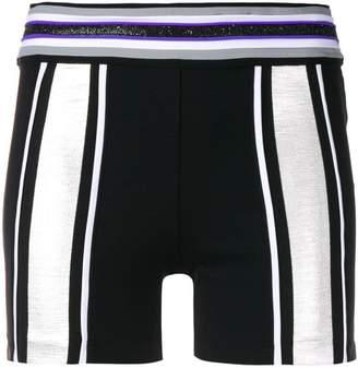 NO KA 'OI No Ka' Oi glittery detailing compression shorts