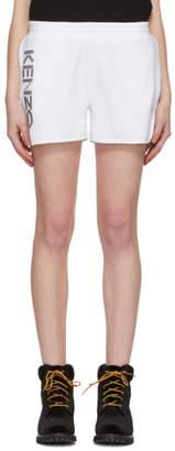 Kenzo White Sport Shorts