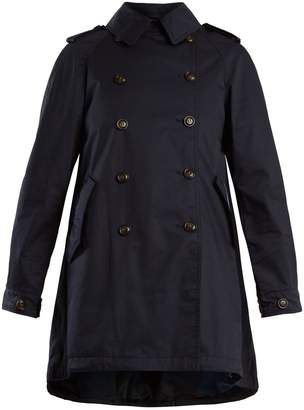 Woolrich Lightweight coated-cotton trench coat