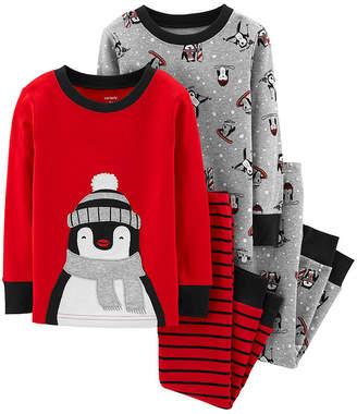 Carter's 4-pc. Pajama Pant Set - Baby Boys