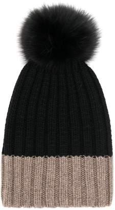 6af55d1be Hat With Two Pom Poms - ShopStyle