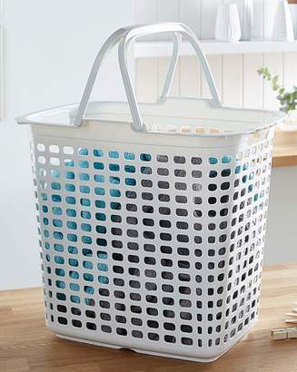 Fashion World Big Laundry Basket with Handle