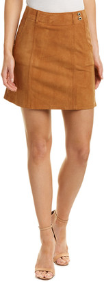 AG Jeans Juliette Nautical Suede Skirt