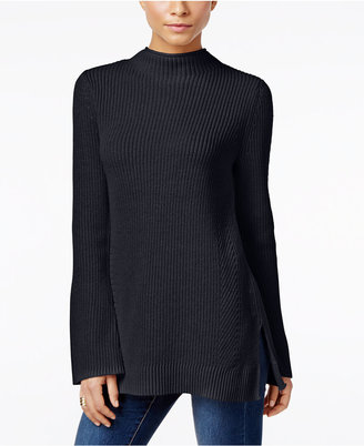 Style & Co. Mock-Neck Bell-Sleeve Sweater, Only at Macy's $49.50 thestylecure.com