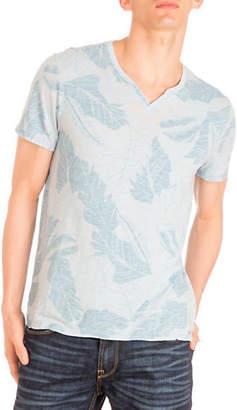 GUESS Myer Split Neck T-Shirt