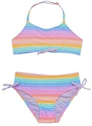 Hula Star Bikini Rainbow Two-Piece Swimsuit
