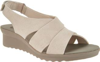 062c31b2b12 Clarks White Cushioned Footbed Women s Sandals - ShopStyle