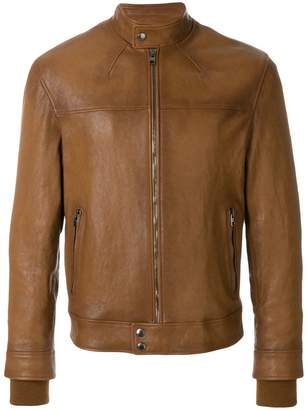 Alexander McQueen band collar jacket