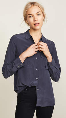 Rails Rhett Silk Button Down Shirt