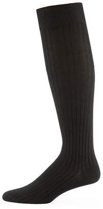 Neiman Marcus Core-Spun Socks, Over-the-Calf