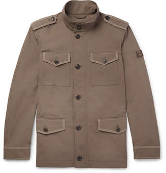Tod's Cotton and Linen-Blend Field Jacket