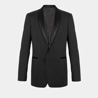 Theory Wool Shawl Tuxedo Blazer