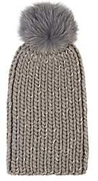 Eugenia Kim Women's Rain Chunky Rib-Knit Wool-Blend Beanie-Light Gray