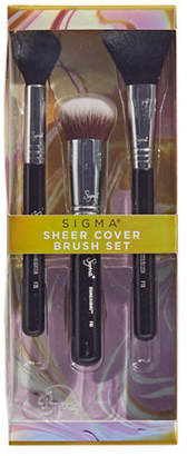 Sigma Beauty Sheer Cover Three-Piece Brush Set