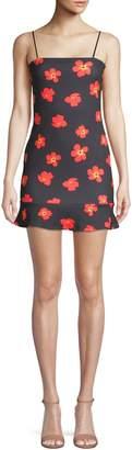 Missguided Floral Squareneck Dress