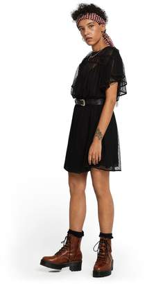 Scotch & Soda Mesh Polka Dot Party Dress