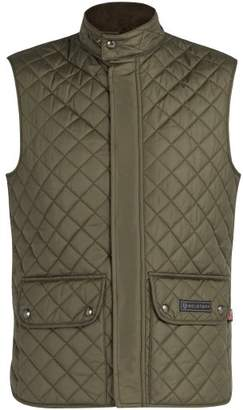 Belstaff Quilted Padded Gilet - Mens - Khaki