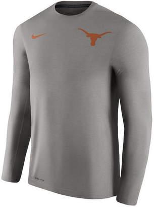 Nike Men's Texas Longhorns Dri-Fit Touch Longsleeve T-Shirt