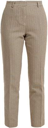 Vanessa Bruno Moustique checked cotton trousers