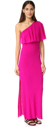 Fuzzi One Shoulder Dress $370 thestylecure.com