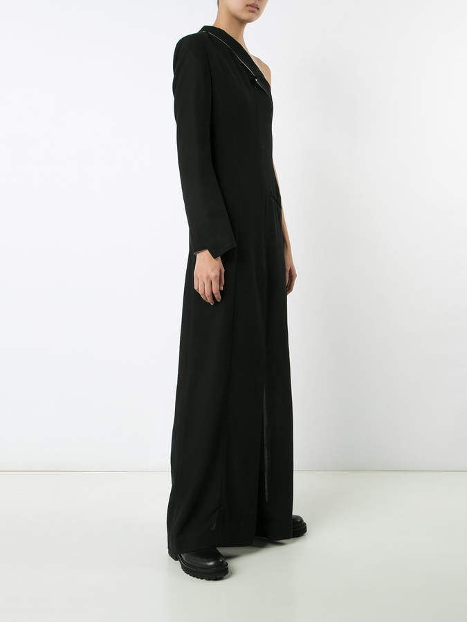 Ann Demeulemeester one shoulder dress