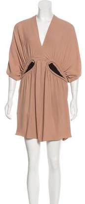 Marni Pleated Mini Dress