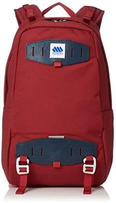 Steve Madden (スティーブ マデン) - [メデン] バックパック 1-22リッターパック A4対応 18SSMAD080057 BARN RED/NAVY バーンレッド/ネイビー